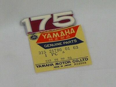 Yamaha Emblem 6 fits AT3 1972