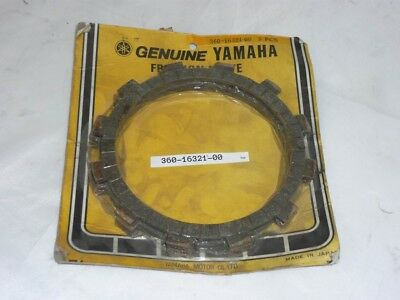 Yamaha Friction plate, clutch fits RD250 1973