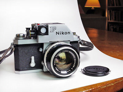 Early Nikon F Photomic with 50mm f1.4 Lens