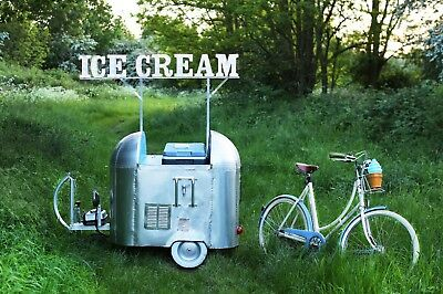 Airstream trailer - Citroen H van - Catering vehicles with a twist