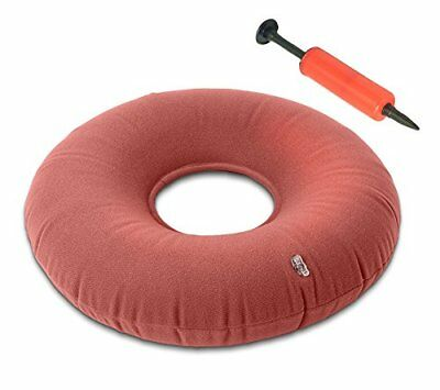 Inflatable Ring Cushion / Dr Recommended Medical Pillow With Air Valve For Adjus
