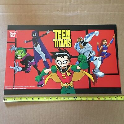 Teen Titans Go Toys R Us Exclusive Rare Store Display Sign