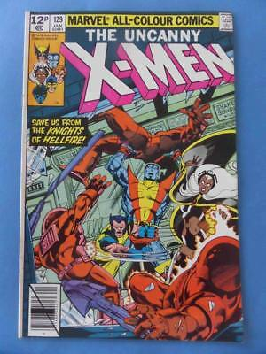 Uncanny X-Men 129 1980 Classic Byrne! 1St Kitty 1St Emma Frost High Grade Vf/nm