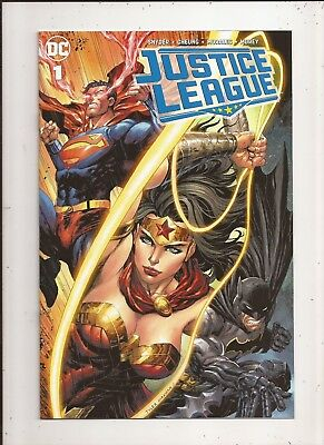 Justice League #1 Tyler Kirkham Unknown Exclusive Variant Trade Dress 2018 NM DC