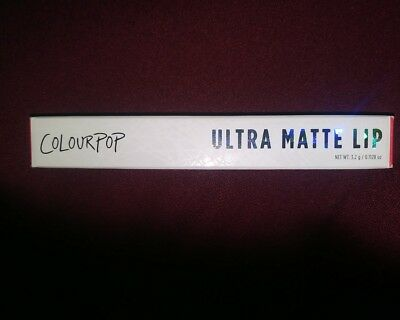 ColourPop Ultra Matte Lip liquid Lipstick SUCCULENT Colour Pop NIB ORIGINAL!