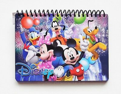 Disney - Mickey & Gang - Mickey Minnie Donald Goofy Pluto Autograph Book 85134