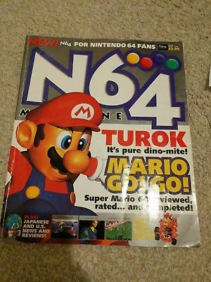 N64 Magazine Issue #1 First Edition