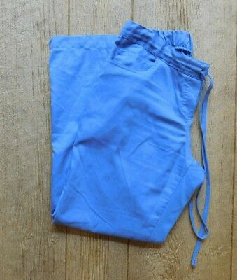 Grey's Anatomy Scrub Pants / Size Medium PETITE / Style 4232P Ciel Blue