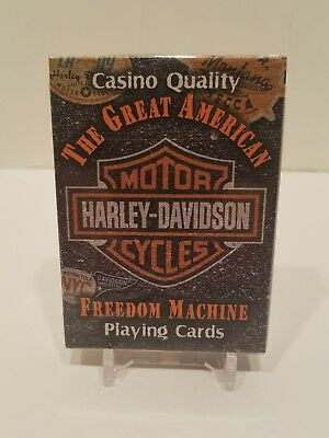 2006 Harley-Davidson Motorcycles Casino Quality Deck of Playing Cards