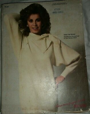 1985 SEARS Fall Winter Catalog featuring Stephanie Powers