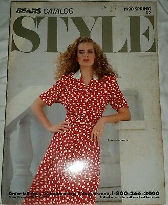 1990 SEARS Spring Style Catalog