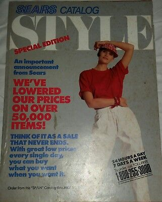 1989 SEARS Style Special Edition Catalog