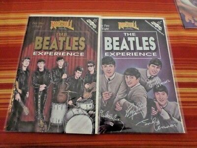 ROCK N ROLL REVOLUTIONARY COMIC THE BEATLES EXPERIENCE Part One and Two of Eight