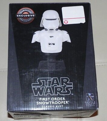 Star Wars First Order Snowtrooper Limited Edition Statue Figure New /4000