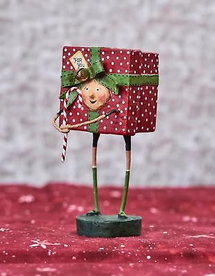 Lori Mitchell™ - All Wrapped Up - Christmas Present Kid Figurine 11090