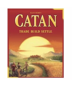 Settlers of Catan Board Game 5th Edition - NEW