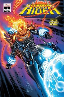 Cosmic Ghostrider #1 J Scott Cambpell Sdcc Variant Glow In The Dark Ltd To 1000