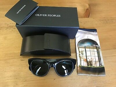 88feb66c6a NWT OLIVER PEOPLES Womens Jacey Polarized Cat Eye Sunglasses  325 MADE IN  ITALY -  99.50