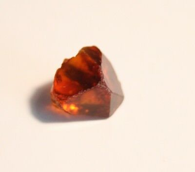 4.36ct Madeira Citrine Crystal - Clean Lapidary / Specimen Rough