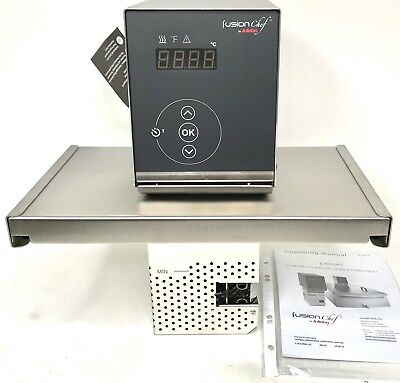 New Fusionchef Pearl Z  Stainless Steel Sous Vide Immersion Circulator & Bridge