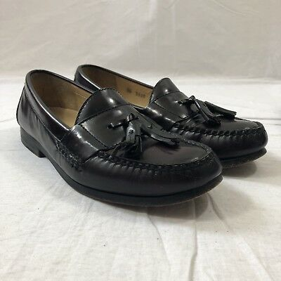 14d349dcb44 Cole Haan Men s Pinch Tassel Brown Leather Loafer Slip On Dress Shoes Size  8 B