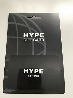 HYPE DC Credit Note value at $30