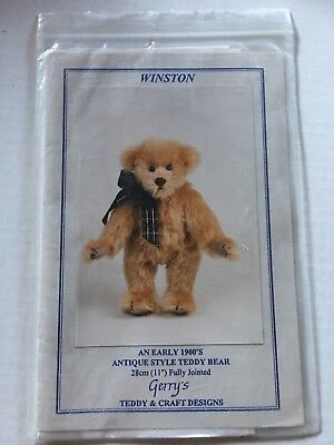 Teddy Bear pattern - Winston - pattern & instruction 28 cm bear