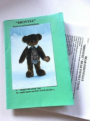 Teddy Bear pattern - Brontee - pattern & instructions