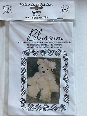 Teddy Bear pattern - Blossom - pattern & instructions for a 270 mm bear