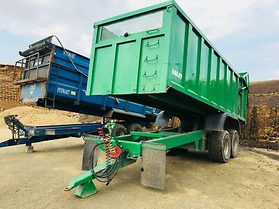 20T Bailey Bulk Trailer Hi Speed Wood Chip