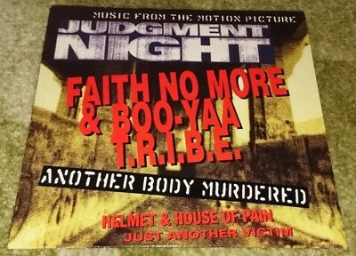Judgement Night - LP Sampler - Hardcore/ Faith No More/ Helmet/ House Of Pain