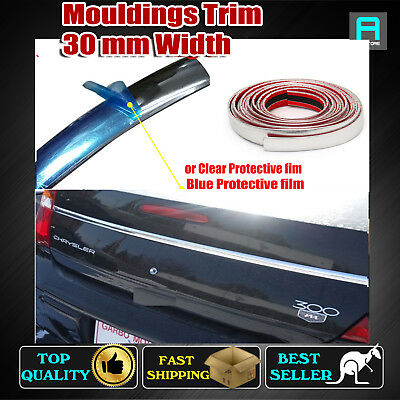 7M Vehicle Ute Chrome Styling Mouldings Trim Bumper Trunk Body Side 30mm Strip