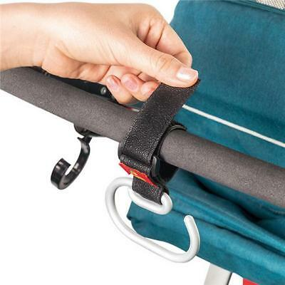 ALUMINUM Buggy Clips for Pram Handy Stroller Hook for Nappy Changing Bag T