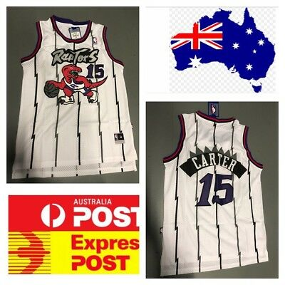 the latest 9c405 bae1f NEW MEN'S TORONTO Raptors #15 Vince Carter Basketball jersey ...