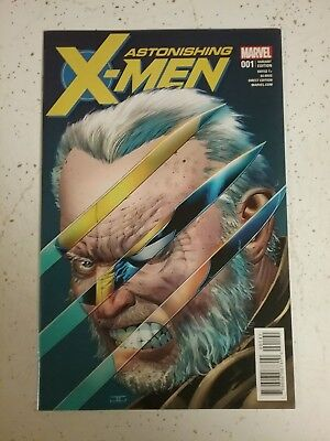 Astonishing X-Men #1 Cassaday Variant Cover 1:50 2018 Marvel | Hulk #340 Homage