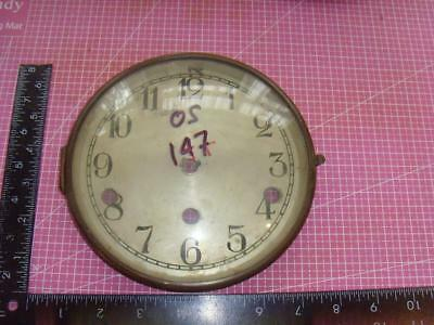 OS#147 1930'S Mantle Clock  Bezel & Convex Glass max outer dia 164mm