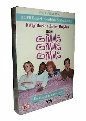 Gimme, Gimme, Gimme - The Complete Boxset (DVD, 2006, 3-Disc Set, Box Set) NEW