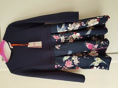 New With Tag Ted baker Girls Mock Skirt Dress Age 12-13 Years