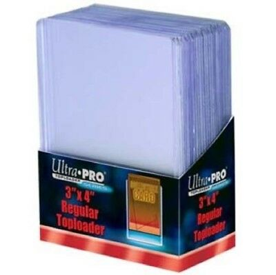 x25 ULTRA PRO TOP LOADERS Plus 100 Ultra Pro card sleeves