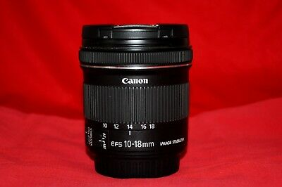 Canon EF-S 10-18mm F/4.5-5.6 IS STM USM EF-S Lens