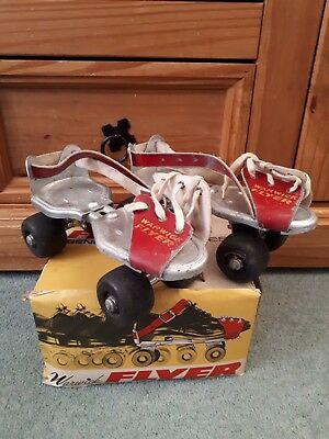 Warwick Flyer Senior - Roller Skates with Box and Socket Tool.
