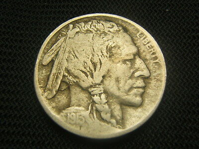 1913- D Type I 3/4+ horn  Buffalo Indian Nickel  each additional coin ships free