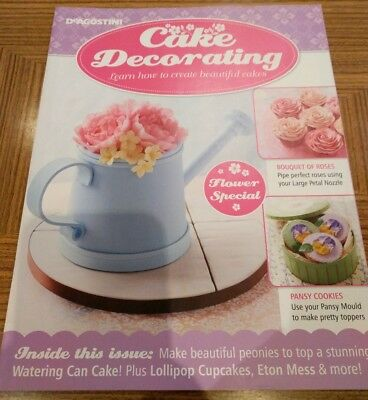 DeAgostini Cake Decorating Flower Special