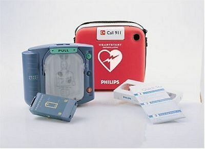 Philips HeartStart Defibrillator AED Model #M5068A FACTORY SEALED NEW