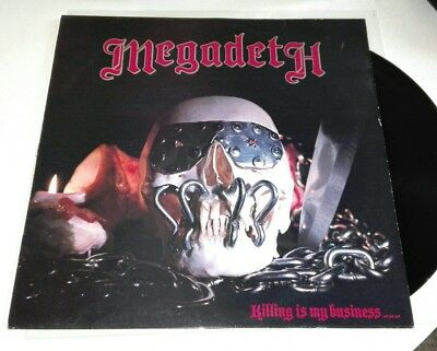 Megadeth - Killing is my business.. and business is good (1985, 1st pressung)