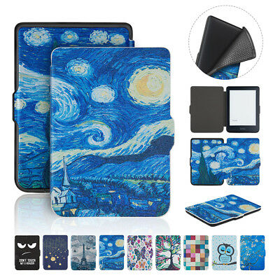 """PU Leather Protective Stand Case Cover for 2018 New Kobo Clara HD 6"""" eReader"""