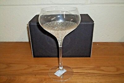 ORREFORS CHAMPAGNE IS DIVINE Champagne Coupe by Orrefors Sweden 6290715 NIB $65