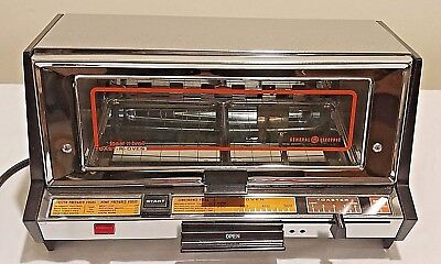 Vintage General Electric Toast R Oven Ge Toaster Broiler Counter Top Never Used!