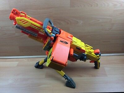 Nerf Havok Fire Vulcan Ebf-25 Elite Gun Blaster N-Strike Havoc Ebf25 +Ammo Belt