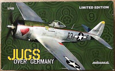 1/48 #1179 P-47 Thunderbolt JUGS OVER GERMANY Limited Edition USAAF WWII Airwar